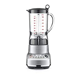 Breville BBL620SIL Fresh and Furious LCD Kinetix Blender
