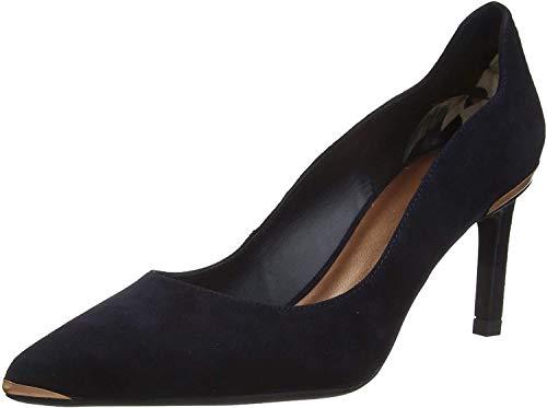 Ted Baker Eriins, Zapatos de tacón con Punta Cerrada Mujer, Azul (Blue Night Blue Night), 40.5 EU