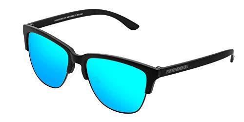 HAWKERS · CLASSIC · Carbon Black · Clear Blue · Gafas de sol para