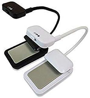 White, White : 1pcs Newest Kindle 3 LED Light Clip-On Ebook Reading Lamp Booklight Book Reader Mini Flexible Bright Desk 918
