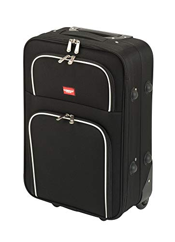 Princess Traveller Barcelona Soft Luggage Traveller koffer, 37 liter, zwart