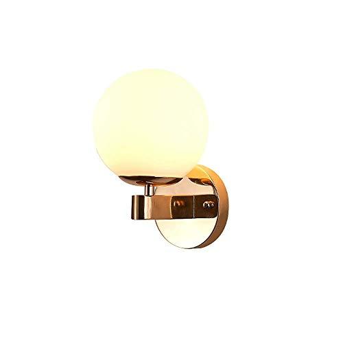 CHOUCHOU Apliques Pared Moderno Nuevo diseño Simple Pared del Estilo de la lámpara Decorativa/Sala de Estar Lámpara de Pared/Dormitorio lámpara de Pared de Metal