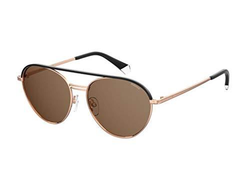 Polaroid Gafas de sol PLD 2107 / S/X Gafas de sol DDB/SP Color Hombre Oro bronce tamaño de lente 56 mm