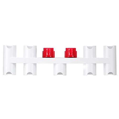 SDFIOSDOI Piezas de aspiradora Accesorios Soporte DE Almacenamiento Ajuste para Dyson V7 V8 V8 V10 V11 Rack de Almacenamiento de Piezas de aspiradora (Color : White)