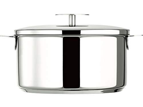 CRISTELクリステルステンレス鍋グラフィット深鍋24cmガスIHオーブン対応ふた付きF24GK【日本正規販売品】フランス製
