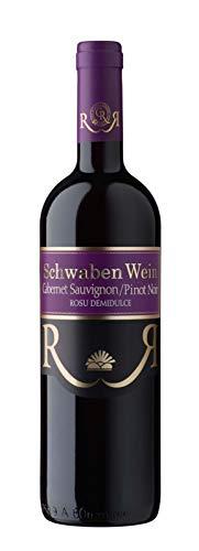 Cramele Recas | SCHWABEN WEIN Cabernet Sauvignon & Pinot Noir – Rotwein lieblich aus Rumänien 0,75 L