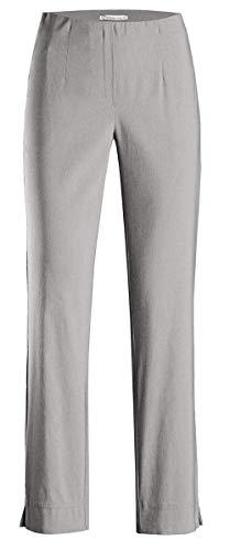 Stehmann Stehmann INA-740, bequeme,stretchige Damenhose-bitte mindestens 1 Nummer kleiner bestellen 40,Grau(951)