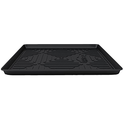 """FH Group F16407-32 Black 32"""" x 24"""" Premium Multi-Use Car SUV and Garage Trunk Mat Cargo Tray Liner"""