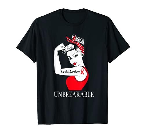 Sobreviviente de accidente cerebrovascular mujeres fuertes irrompi Camiseta