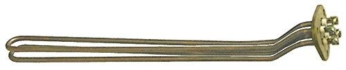 Azkoyen radiator voor koffiezetapparaat 4000 W 230 V lengte 468 mm breedte 39 mm 2 verwarmingscircuits hoogte 52 mm aansluiting M4 inbouw ø 40 mm
