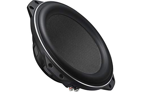 "Kenwood Excelon XR-W10F 10"" 4-ohm Oversized Slim Subwoofer with Peak Power of 1200 Watts"