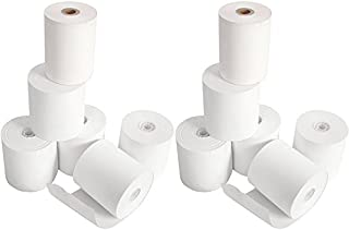 Square POS Register Thermal Receipt Paper Rolls - 3-1/8 inches x 230ft - Made in USA BPA FREE (12 Pack)