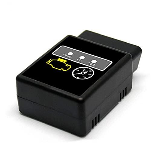 Runfon Sistema de Código de Motor de Coche Bluetooth OBD OBD2 Lector de HH anticipada de vehículos universales escáner OBD 2 Obdii Compruebe Herramienta de Diagnosis Motor de luz para Android Pc