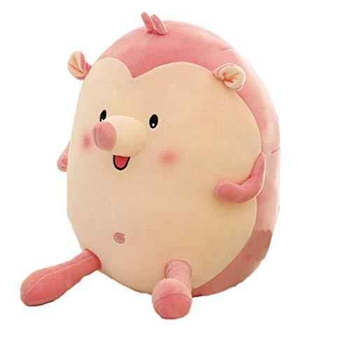 Regenbogen niedlichen Engel Igel Baby Doll Halloween Weihnachten Geburtstagsgeschenke für Jungen Mädchen Kinder 33cm Pink