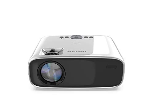 Philips NeoPix Easy+ Mini Video Projector, 80 Inch Display, Wi-Fi Screen Mirroring, Bluetooth, Built-in Media Player, HDMI, USB, microSD, 3.5mm Audio Out Photo #4