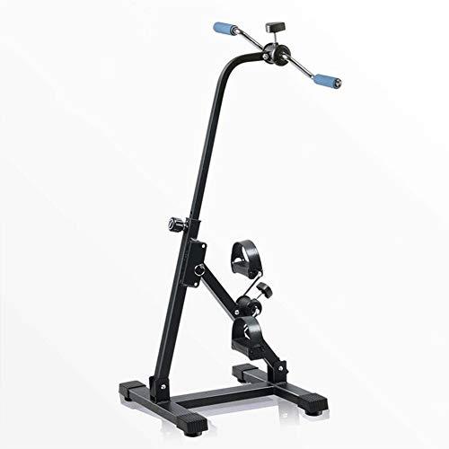 Pedales Estaticos Mini Bicicleta Estatica Pedal portátil Ejercitador - El brazo y el ejercicio de piernas vendedor ambulante de la máquina - Equipo de la aptitud for la tercera edad y de edad avanzada