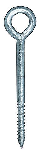 allfa 8200012230 Gerüstösen, verzinkt, 12 x 230 mm, 50 Stück
