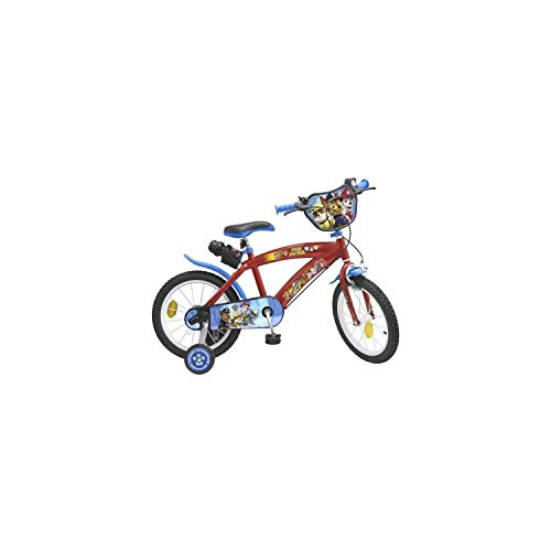 "Toims Paw Patrol Vélo Enfant 14"" - 4/5 ans"