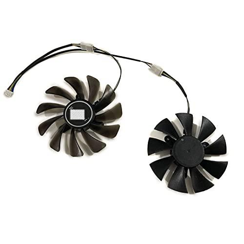 ZT-P10710G-10P GTX 1070 TI Mini GPU Fan de Enfriador Alternativo para Zotac ZT-P10810G-10P GTX1080TI Mini Tarjetas de Video como reemplazo