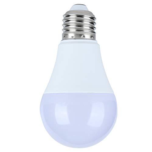Emoshayoga WiFi Smart Light E27 Bombillas LED Lámpara de 15W Soporte de Control de Voz para el hogar 220V Decoración del hogar