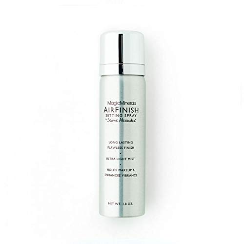 MagicMinerals AirFinish Setting Spray by Jerome Alexander, Long-lasting Finishing Spray, Weightless-feel, Flawless, Matte Coverage
