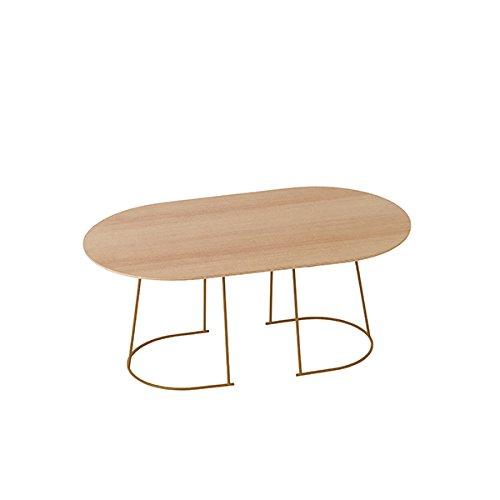 Muuto - Beistelltisch - Airy Coffee Table - Medium 51,5 x 88 x 37,2 cm - Oregon Pine (17221/17181) - Sperrholz (Fundermax), Stahl