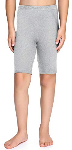 Merry Style Leggins Mallas Pantalones Cortos Ropa Deportiva Niña MS10-227(Melange, 128 cm)
