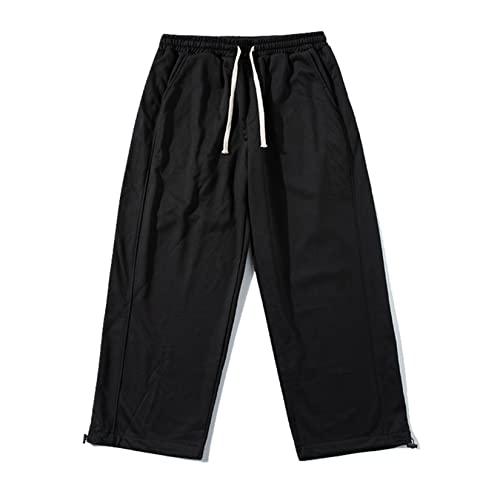 Feidaeu Pantaloni per Il Tempo Libero da Uomo Comodo da Indossare Tutti i Giorni Pantaloni Casual Traspiranti Pantaloni da Jogging Pantaloni Sportivi Larghi da Autunno all'aperto