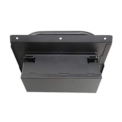 Smittybilt 812101 Black Security Glove Box