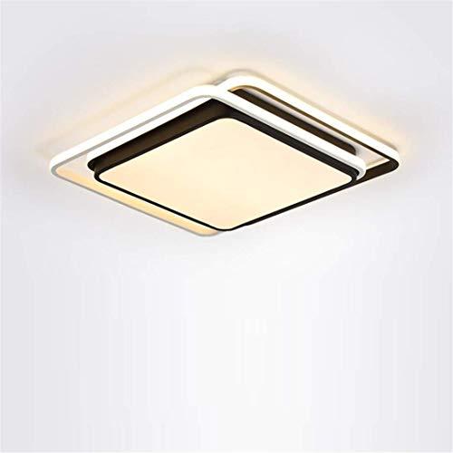 Thumby plafondlampen, plafondlampen, noord-stijl, vierkant, modern zwart, geometrische slaapkamerlamp, kledij, plafondlamp, strakke, minimalistische stijl