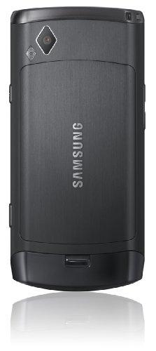 Samsung Wave S8500 Smartphone (Super Amoled Display, Touchscreen, bada-Betriebssystem) metallic-Black