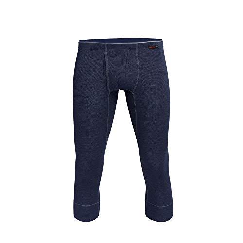con-ta Thermo 3/4 Lange Hose mit Eingriff, Lange Unterhose für Herren, wärmende Unterwäsche mit natürlicher Baumwolle, Herrenbekleidung, Größe: M - 4XL