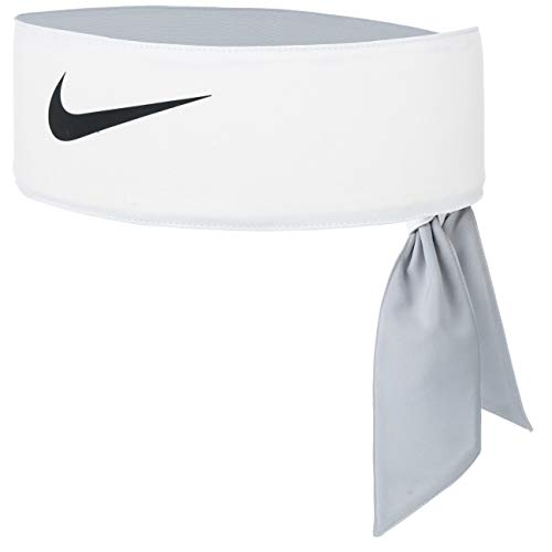 Nike Unisex-Erwachsene Tennis Headband, White/Black, One Size