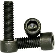 Hex Screw - Allen Screw - Socket Head Cap Screw - Metric Class 12.9 - M16-2 x 70mm - Thermal Black Oxide (Quantity: 75), Drive: Hex Socket, Head: Cylindrical