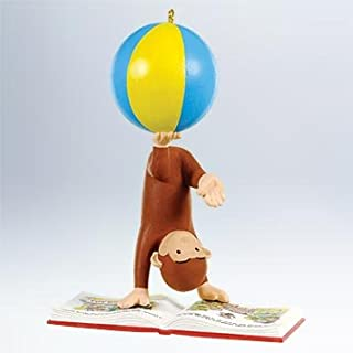 2011 Hallmark READING IS A BALL! Curious George Ornament - QXI2509
