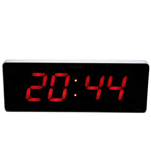Technoline WS8005 Digital Wall Clock Rettangolare Argento Orologio da Parete