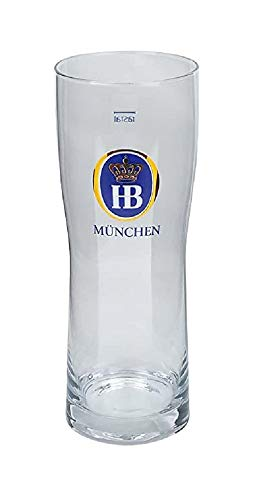 Bicchiere Birra HofBrau Munchen cl. 40 Set 6 Pz
