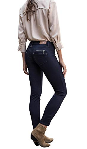 Freeman T. Porter Alexa Cropped Super Stretch Denim Flora Größe M