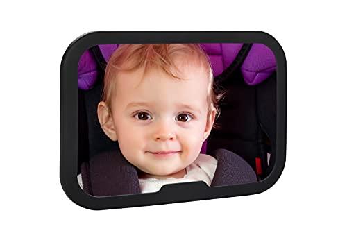 AltaBeBe Al1104 Specchietto Retrovisore Auto per Controllo Bambini, Nero