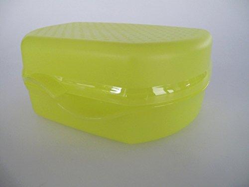 TUPPERWARE To Go Snacky limette Brotbox Kindergarten Pausenbrot Sandwich Dose 7545