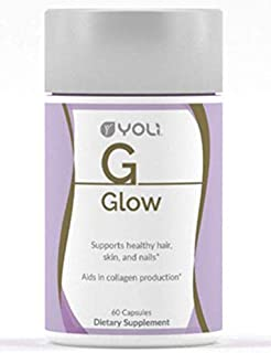 Yoli Glow - Supports Healthy Hair Skin and Nails and Aids in Collagen Production