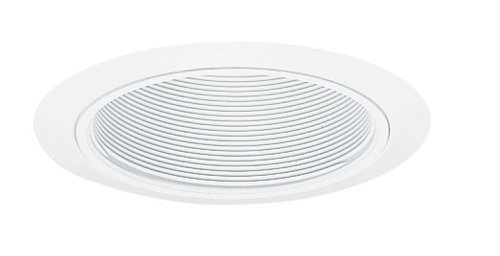 Juno Lighting Group 205W-WH 205 WWH Light, Baffle with White Trim