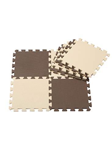 CBジャパン JOINTMAT(ジョイントマット) ポルト チョコレート 30x30センチメートル (x 8)