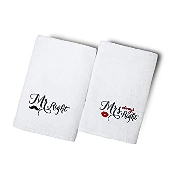 Best his and her towels Reviews