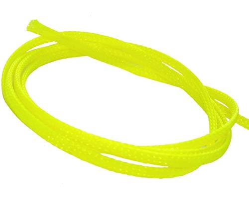 Aerzetix kabelmantel, 4,5 m, 4 mm, 3-7, krimpkous, kabelmof, elektrische kabel, geel C41308