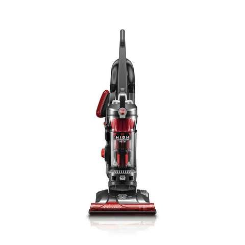 Hoover WindTunnel 3 High Performance Pet Bagless Corded Upright Vacuum cleaner, Red