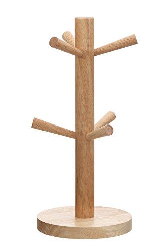 Premier Housewares Becher Baum, 6 Cup, Rubberholz