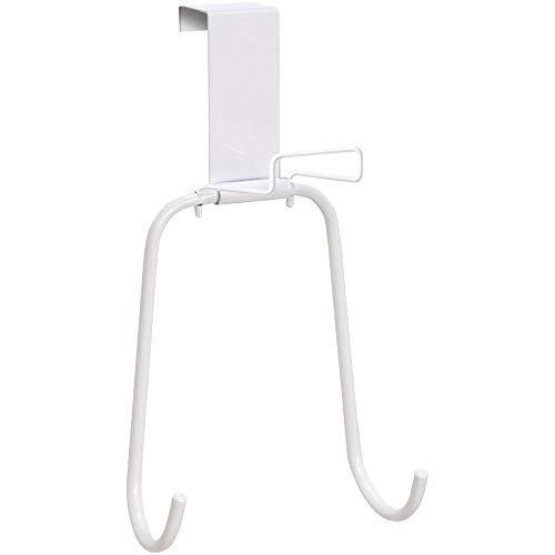 Honey-Can-Do BRD-01233 Over The Door Iron and Board Holder, White