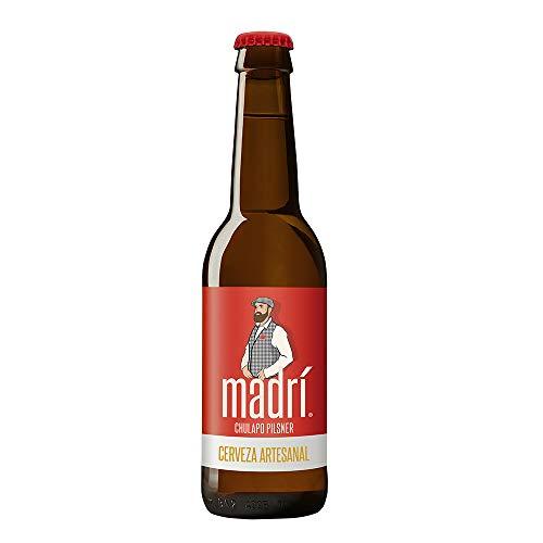 Madrí - Cerveza de Estilo Pilsner, 24 x 330 ml