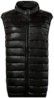 YRW18006 Autumn Winter Women Vest Thick Sleeveless Down Vest Bread Coat Women Warm Jacket Female Outwear Female Clothing - Black L